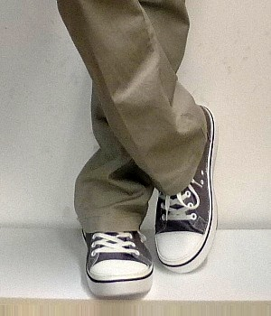 converse-gray-canvas-sneakers