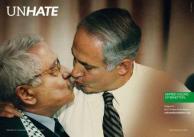 Presidente da Autoridade Nacional Palestina, Mahmoud Abbas, e o primeiro-ministro de Israel, Benjamin Netanyahu Divulgação