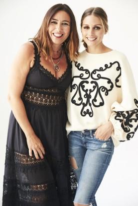 Olivia Palermo usó una sudadera de Zara para una foto casual y logró agotarla de la tienda