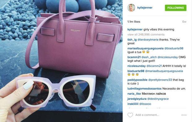 KylieJenner_SaintLaurent_Instagram